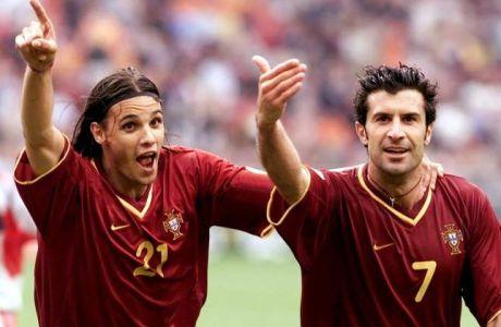 """Νούνο Γκόμες: """"Ο Φίγκο ήταν πιο έξυπνος από τον Ρονάλντο"""""""