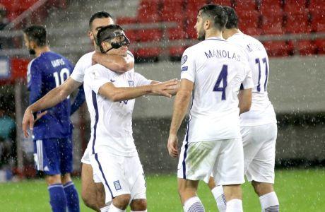 (VIDEOS) Τα γκολ της Ελλάδας κόντρα στην Κύπρο