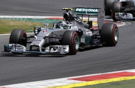 Rosberg και στην Αυστρία