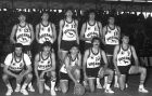 Ο ΠΑΟΚ της εποχής: Πάνω (από αριστερά): Ζ.Κατσούλης, Μπακόπουλος, Φασούλας, Μ.Κατσούλης, Κουματσιώτης Κάτω: Πολίτης, Αγγελίδης, Κωνσταντινίδης, Αλεξανδρής, Καλπάκης