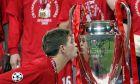 Ο Στίβεν Τζέραρντ ήταν ο αρχηγός της Λίβερπουλ που σήκωσε το τρόπαιο του Champions League στην Κωνσταντινούπολη το 2005