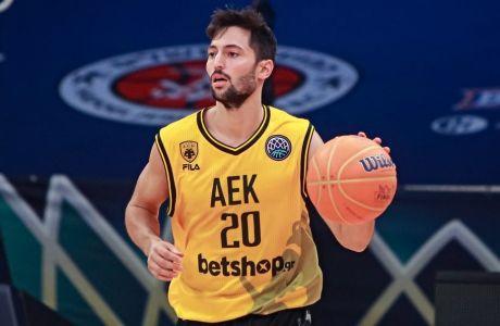 Ο Νίκος Γκίκας ήταν κομβικός στην πρόκριση της ΑΕΚ επί της Νίμπουργκ, στον προημιτελικό του Final-8 του Basketball Champions League