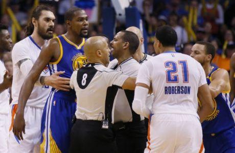 Ο... τσαμπουκάς Westbrook - Durant