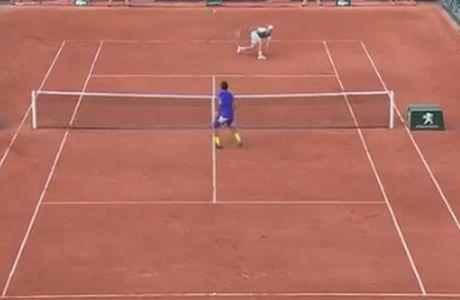 Ο λόγος για να λατρεύεις το τένις είναι αυτός ο πόντος...