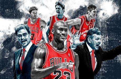 Ολυμπιακός-Σικάγο Μπουλς: Η προφορική ιστορία ενός ματς-θρύλου