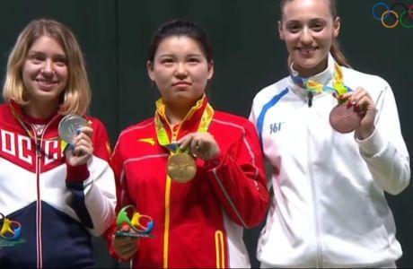 Χάλκινο μετάλλιο η Κορακάκη!