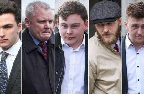 Στο δικαστήριο οι πέντε οπαδοί που κατηγορούνται για ρατσισμό