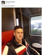 Ο Κατσικάς ταξίδεψε 742 χλμ. με τρένο για να βρει τη νέα του ομάδα!