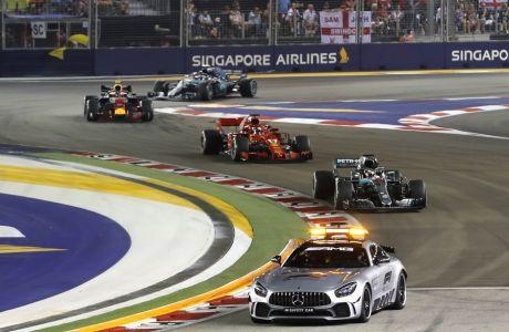 Η πίστα της Σιγκαπούρης έχει το ρεκόρ των εισόδων του safety car.