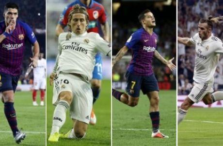 Οι 4 παίκτες που θέλουν να γίνουν ήρωες στο Μπαρτσελόνα-Ρεάλ