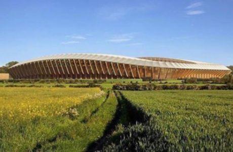 O πρώτος vegan σύλλογος αποκτά το πρώτο ξύλινο γήπεδο