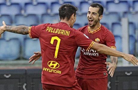Ανήμερα του πρώτου γκολ που έβαλε ο Μιχιταριάν με τη νέα του ομάδα (Ρόμα), βρέθηκε το παιδί που συνόδευε την ανακοίνωση της μεταγραφής του.