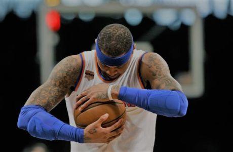 Ο Carmelo Anthony δεν κατάφερε ποτέ να νικήσει τον εαυτό του