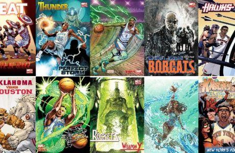Marvel: Τα εκπληκτικά αθλητικά εξώφυλλα