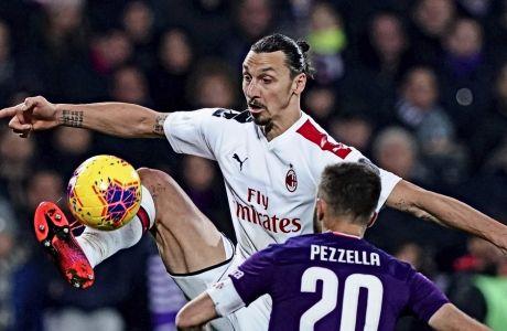 Ο Ζλάταν Ιμπραχίμοβιτς θα αρκεστεί στις 8 συμμετοχές, τα 3 γκολ και τη 1 ασίστ με τη φανέλα της Μίλαν, καθώς όπως έγραψε η Corriere della Sera, δεν θα γυρίσει στην Ιταλία για το restart της SerieA.