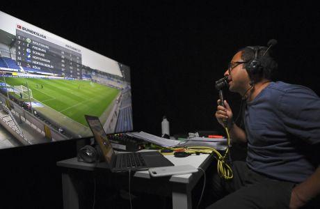 H RunRepeat, μια δανέζικη εταιρεία ερευνών, αποκάλυψε πως υπάρχει φυλετική διάκριση ακόμη και στις περιγραφές αγώνων ποδοσφαίρου. (AP Photo/Alberto Pezzali)