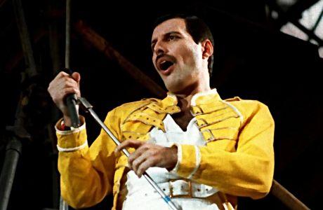 Ο Φρέντι Μέρκιουρι των Queen σε συναυλία στη Γερμανία, Κυριακή 20 Ιουλίου 1986