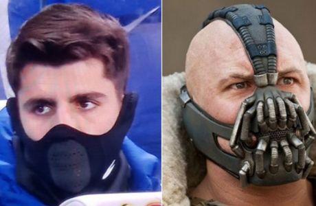 """""""Γλέντι"""" στο twitter με την περίεργη μάσκα του Μοράτα"""