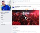 Το πρώτο ερυθρόλευκο ποστ του Μιραλάς στο facebook!