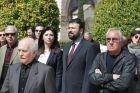 ΑΘΗΝΑ-Η κηδεία του εκδότη της εφημερίδας «Φως των ΣΠΟΡ», Θόδωρου Νικολαΐδη στο Α' Νεκροταφείο Αθηνών.(EUROKINISSI-ΚΟΝΤΑΡΙΝΗΣ ΓΙΩΡΓΟΣ)