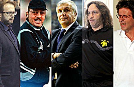 Οι μακροβιότεροι προπονητές σε πάγκους ελληνικών ομάδων