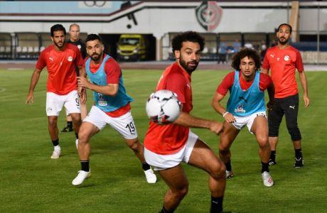 Ουαρντά και Σάλαχ σε προπόνηση της Εθνικής Αιγύπτου