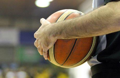 Χειροδικία σε διαιτητή σε αγώνα μπάσκετ