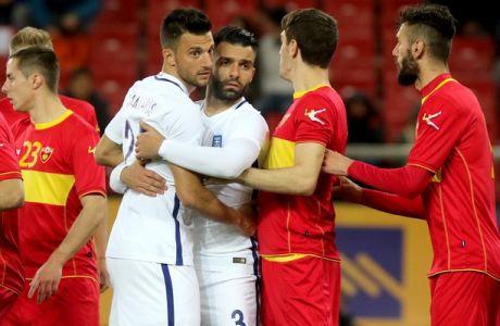 Τα γκολ του Ελλάδα-Μαυροβούνιο