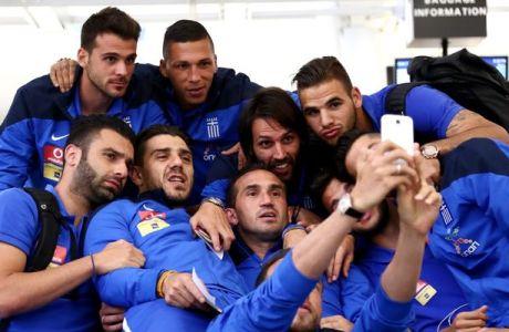 Η selfie της Εθνικής (PHOTO)