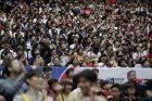 Στη Saitama Super Arena, όπου θα γίνουν αγώνες και στους Ολυμπιακούς του 2020, δεν έπεφτε καρφίτσα.