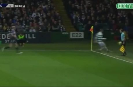 VIDEO: Κλώτσησε την μπάλα στο... ευαίσθητο σημείο του επόπτη!