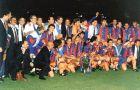 Η Μπαρτσελόνα με το πρώτο της τρόπαιο στο Κύπελλο Πρωταθλητριών (1992).