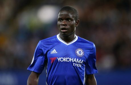 LONDON, ENGLAND - AUGUST 15: Ngolo Kante of Chelsea during the Premier League match between Chelsea and West Ham United at Stamford Bridge on August 15, 2016 in London, England. (Photo by Catherine Ivill - AMA/Getty Images)