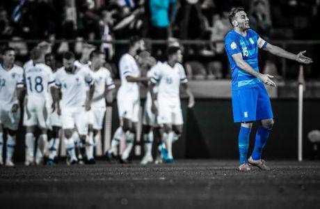 ΠΡΟΚΡΙΜΑΤΙΚΑ EURO 2020 / ΦΙΝΛΑΝΔΙΑ - ΕΛΛΑΔΑ (ΦΩΤΟΓΡΑΦΙΑ: EUROKINISSI)