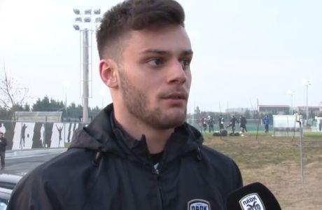 """Κωνσταντινίδης: """"Είμαι καλά, όλα τα παιχνίδια σαν τελικοί"""" (VIDEO)"""
