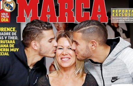 To πρωτοσέλιδο της Marca είναι η αποθέωση του ντέρμπι και της... μητέρας!