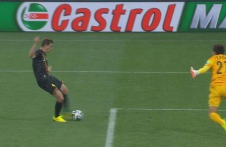 Ο Βερτόνχεν το 1-0 για το Βέλγιο