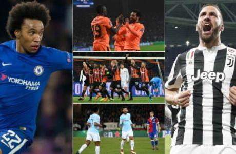 """Αυτά είναι τα πέντε καλύτερα """"ΓΚΟΛ της εβδομάδας"""" στο Champions League!"""