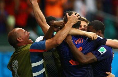 Ισπανία - Ολλανδία 1-5
