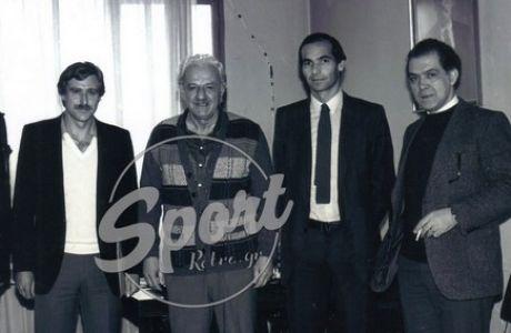 Χαρίλαος Φλωράκης και ποδόσφαιρο