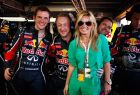 MONTE CARLO, MONACO - MAY 29:  Former Spice Girl Geri Halliwell visits the Red Bull Racing garage before the Monaco Formula One Grand Prix at the Monte Carlo Circuit on May 29, 2011 in Monte Carlo, Monaco.  (Photo by Mark Thompson/Getty Images) *** Local Caption *** Geri Halliwell