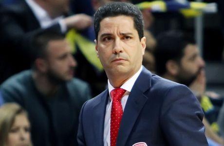 """Σφαιρόπουλος: """"Δεν έχουμε βγει στην αγορά για παίκτη"""""""