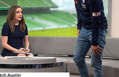 Το απρόοπτο της χρονιάς με ποδοσφαιριστή σε live εκπομπή!