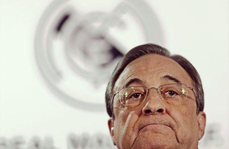 O Φλορεντίνο Πέρεθ έθεσε την πρώτη υποψηφιότητα για πρόεδρος της Ρεάλ Μαδρίτης το 1995.