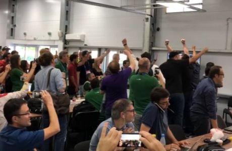 """""""Πάρτι"""" των Βραζιλιάνων δημοσιογράφων για την ήττα της Γερμανίας!"""