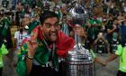 Ο προπονητής της Παλμέιρας, Αμπέλ Φερέιρα, πανηγυρίζει την κατάκτηση του Copa Libertadores 2020 κόντρα στη Σάντος στο 'Μαρακανά', Ρίο ντε Ζανέιρο | Σάββατο 30 Ιανουαρίου 2021