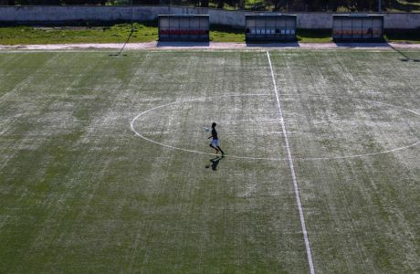Cosmos F.C. Lesvos, η ομάδα που έχει δημιουργηθεί από πρόσφυγες στη Μόρια