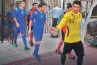 Ο αλ-Σαρούτ ενόσω έπαιζε ακόμη ποδόσφαιρο