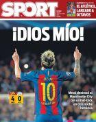 """Η Mundo Deportivo αποκαλεί """"γαμ@@@@@ αφεντικό"""" τον Μέσι!"""