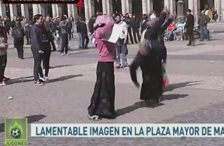 VIDEO: Ολλανδοί περιπαίζουν ζητιάνους στο κέντρο της Μαδρίτης